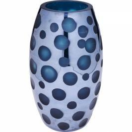 Váza Blue Dots 26 cm