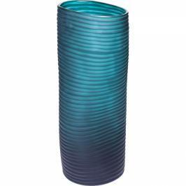 Váza Swirl Turquoise 36 cm