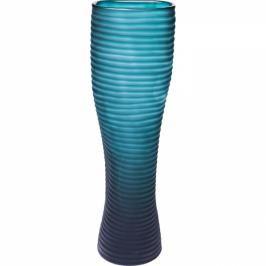 Váza Swirl Turquoise 46 cm