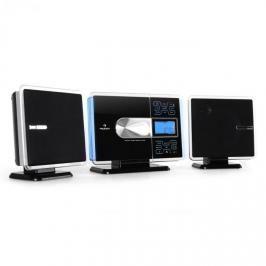 USB stereo Auna VCP-191, MP3, CD, SD, AUX, stříbrné lemy