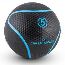 Capital Sports Medb 5, černý, medicinbal, 5 kg, guma