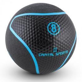 Capital Sports Medb 8, černý, medicinbal, 8 kg, guma