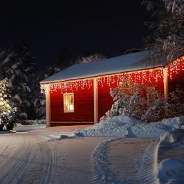 Blumfeldt Dreamhouse, teplá bílá, 16 m, 320 LED, vánoční osvětlení, padající sníh