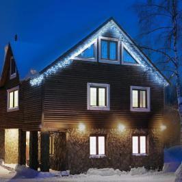 Blumfeldt Dreamhouse, studená bílá, 8 m, 160 LED, vánoční osvětlení, blikající efekt