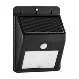 Lightcraft Solarlux, solární venkovní světlo, hlásič pohybu, 4 LED, studené bílé, bezdrátové