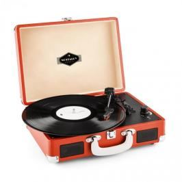 Auna Peggy Sue, červený, retro gramofon, vinyl LP, USB, line out