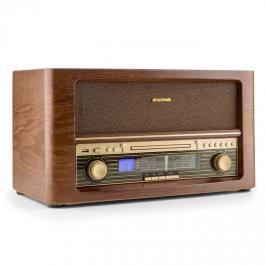 Auna Belle Epoque 1906, retro stereo systém, CD, USB, MP3, AUX, FM / AM