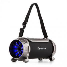 Auna Blaster S, BT reproduktor, mikro SD, 15 W, RMS, AUX, FM, IPX4, ochrana proti stříkající vodě