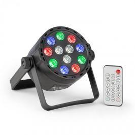 Beamz BeamZ PLS25 Par, LED reflektor, 12x 1W RGBW LED diody, akumulátor, dálkové ovládání