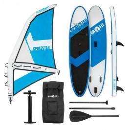 KLARFIT Spreestar WM, nafukovací paddleboard, sup-board-set, 300x10x71, modro-bílá barva