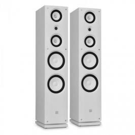 Dvojice HiFi reproduktorů Koda 858F, bílé, 100 W RMS
