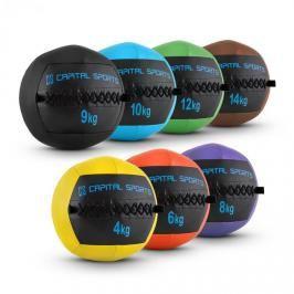 Capital Sports Epitomer Wall Ball Set, 4 kg, 6 kg, 8 kg, 9 kg, 10 kg, 12 kg, 14 kg