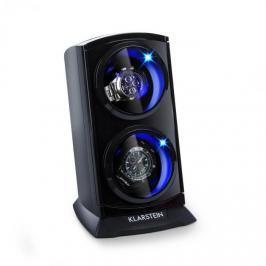 Klarstein St. Gallen Premium, pohyblivý stojan na hodinky, 2 hodinek, 4 rychlosti, černý