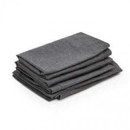 Blumfeldt Theia, potahy na čalounění, 8 dílů, 100 % polyester, nepromokavé, tmavěšedé