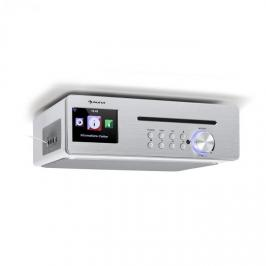 Auna Silverstar Chef, kuchyňské rádio, 20 w max., CD, BT, USB, internet/DAB+/FM, bílé