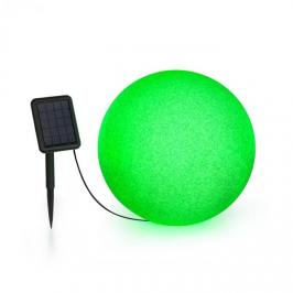 Blumfeldt Shinestone Solar 40, kulová lampa, solární panel, Ø 40 cm, RGB-LED, IP68, akumulátor