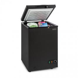 Klarstein Iceblokk 100, truhlicová mraznička, volně stojící, 98 litrů, koš, EEK A +, černá