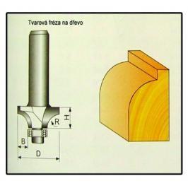 Fréza tvarová do dřeva F16 -  3,17x3,17x7mm
