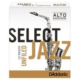 Rico RRS10ASX3H Select Jazz - Alto Saxophone Reeds - Unfiled - 3 Hard - 10 Box