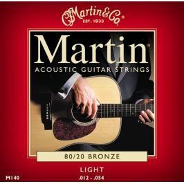 Martin struny - Bronze, Light (12)