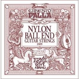 Ernie Ball 2409 Ernesto Palla Nylon Classical Black / Gold Ball End