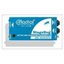 Radial StageBug SB-1 Active, DI box