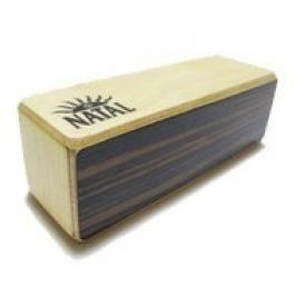 Natal WSK-OB-M-E Oblong Wood Shaker Medium - Ebony