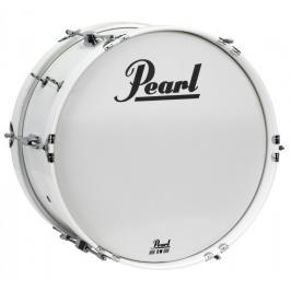 "Pearl MJB1808/CXN33 Junior Marching Series Bass Drum 18""x8"" - Pure White"