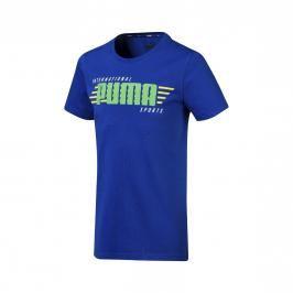 Puma Alpha Graphic dětské tričko modré, vel. 128