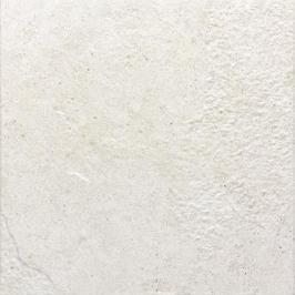 Dlažba Rako Como bílá 33x33 cm reliéfní DAR3B692.1