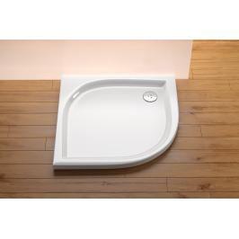 Sprchová vanička čtvrtkruhová Ravak Elipso 100x100 cm akrylát A22AA01210