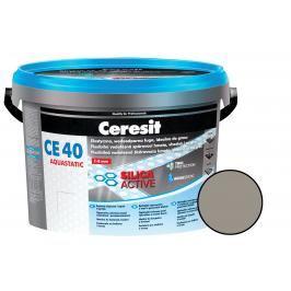 Spárovací hmota Ceresit CE 40 cementově šedá 2 kg CG2WA CE40212