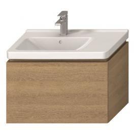 Koupelnová skříňka pod umyvadlo Jika Cubito 74x42,6x48 cm dub H40J4253015191