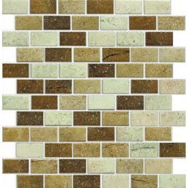 Keramická mozaika Premium Mosaic béžová 30x30 cm mat MOS4823MIXBE