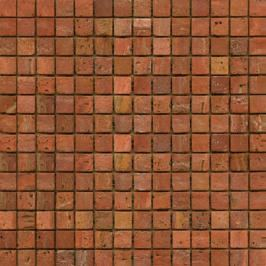Kamenná mozaika Premium Mosaic Stone červená 30x30 cm mat STMOS20REW