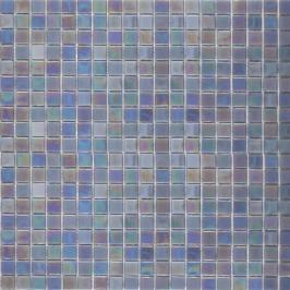 Skleněná mozaika Premium Mosaic stříbrná 33x33 cm lesk MOS15SIHM
