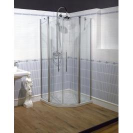 Sprchový kout čtvrtkruh 90x193 cm pravá Huppe Design Victorian chrom lesklý DV1302.092.339
