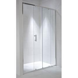 Sprchové dveře 100x195 cm Jika Cubito Pure chrom lesklý H2422430026661