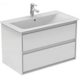 Koupelnová skříňka pod umyvadlo Ideal Standard Connect Air 80x44x51,7 cm bílá lesk/bílá mat E0819B2