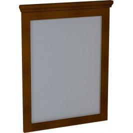 Zrcadlo Sapho Cross 60x80 cm Mahagon CR011