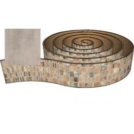 Hrana olepovací Naturel 200 cm beton 330.9112.2M