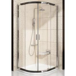 Sprchový kout čtvrtkruh 80x80x175 cm Ravak Blix chrom lesklý 3B240C40Z1