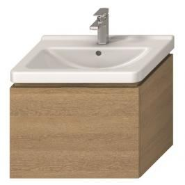 Koupelnová skříňka pod umyvadlo Jika Cubito 64x46,6x48 cm dub H40J4243015191