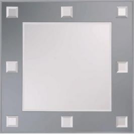 Zrcadlo s fazetou Naturel Mondo 60x60 cm zrcadlová ZMO6060GS