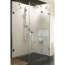 Sprchový kout 100x100x195 cm pravá Ravak Brilliant chrom lesklý 0UPA0A00Z1