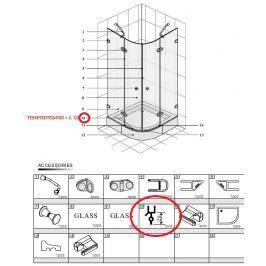 Náhradní díl Anima Glass TESSPODTGS490