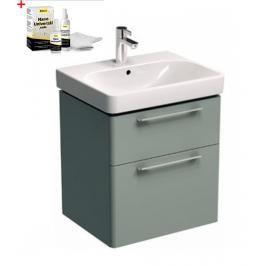 Koupelnová skříňka s umyvadlem Kolo Kolo 60x71 cm platinová šedá SIKONKOT60PS