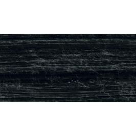 Dlažba Graniti Fiandre Marmi Maximum Nero Supreme 75x150 cm leštěná MML296715