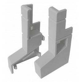 Balkonová PVC koncovka L+R (set 2ks) LBKK