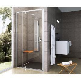 Sprchové dveře 100x190 cm Ravak Pivot bílá 03GA0100Z1
